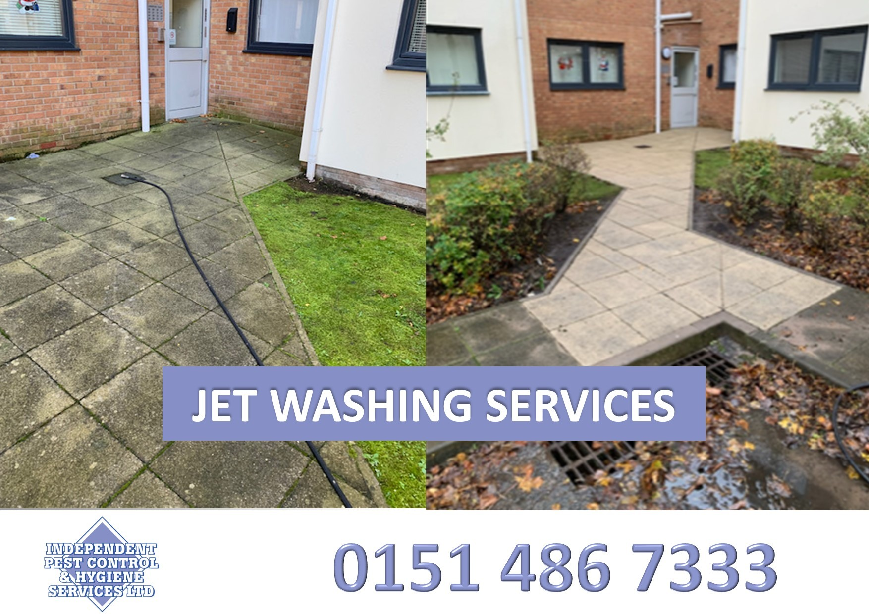 An image showcasing our canopy cleaning as part of our hygiene services.